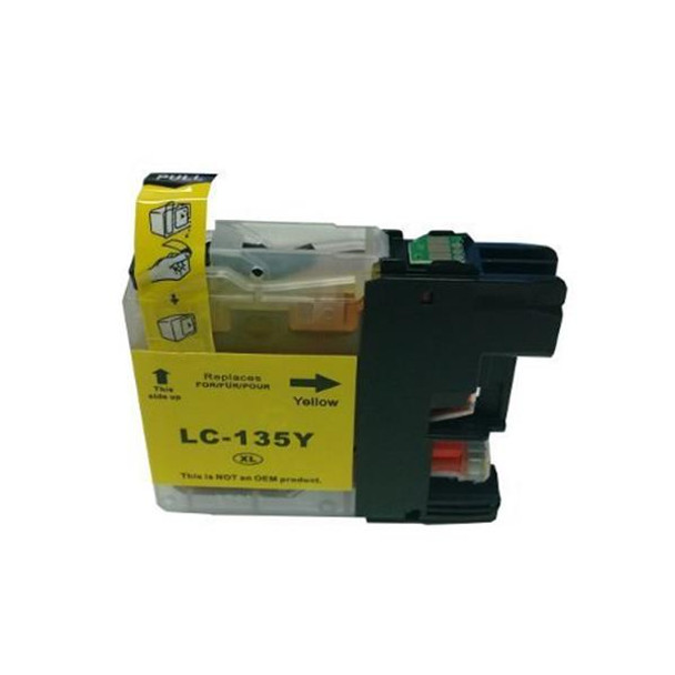 LC135XL Yellow Compatible Inkjet Cartridge