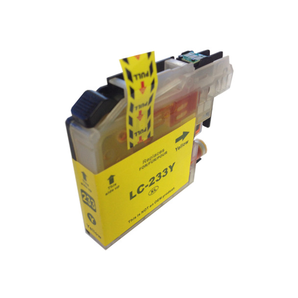 LC-233 Yellow Compatible Inkjet Cartridge