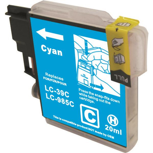 LC39 Compatible Cyan Cartridge