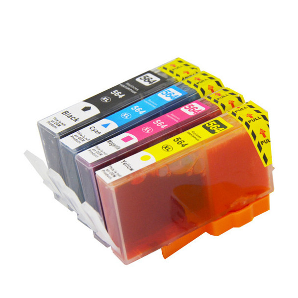 564XL Compatible Inkjet Set 4 Cartridges [Boxed Set]