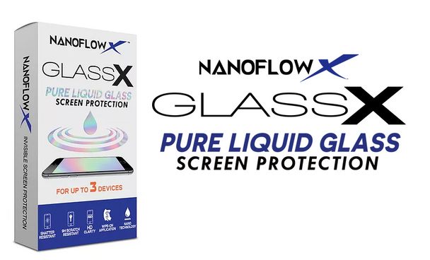 Glass X - The Liquid Glass Mobile Screen Protector