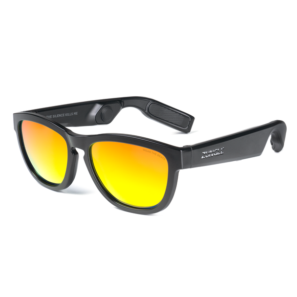 ZUNGLE V2 : VIPER Bone Conduction Bluetooth Sunglasses