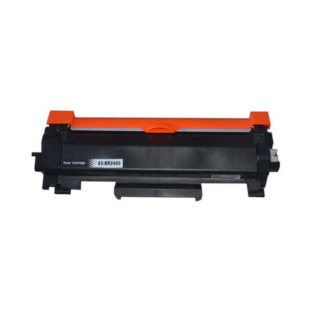 Premium Compatible Toner with New Chip (Replacement for TN-2450)