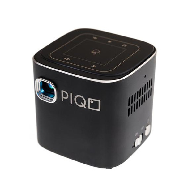 PIQO - The world's most smart 1080p mini pocket projector including 7 Accessories (Value Pack)