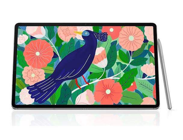 SAMSUNG Galaxy Tab S7 4G+Wi-Fi 128GB Mystic Silver- 11.0' Display, 13MP Camera, 6GB RAM, 128GB ROM, OS Android, 8000mAh Battery