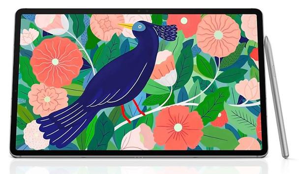 SAMSUNG Galaxy Tab S7 Wi-Fi 256GB Mystic Silver- 11.0' Display, 13MP Camera, 8GB RAM, 256 GB ROM, OS Android, 8000mAh Battery
