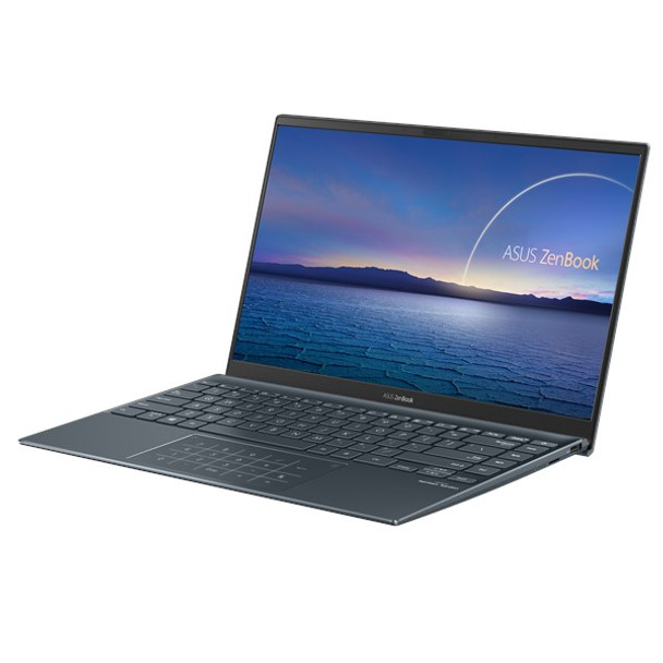 ASUS Zenbook 14 UX425EA 14' FHD IPS i7-1165G7 16GB 512GB SSD WIN10PRO Iris Xe Graphics Backlit WIFI6 4CELL Military Grade 1YR WTY W10P Grey Notebook
