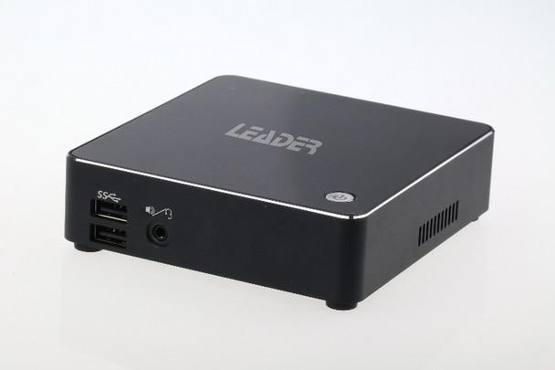 "LEADER Intel Breeze 8th Gen Core i7 NUC Barebone Kit, Intel i7-8550U, 2x DDR4, 1x M.2 slot, 1x 2.5"", AC WiFi+BT, 1xType-C, HDMI, MiniDP, 3 Yr Warranty (L-SYBN-I7-V2)"
