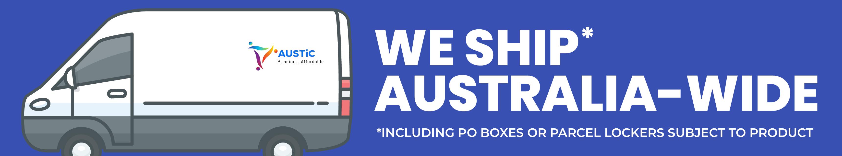 We ship Australia-wide