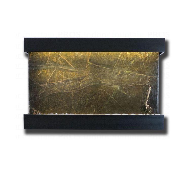 Large Horizon Falls Classic Quarry Rainforest Green Marble  with Black Onyx Kit