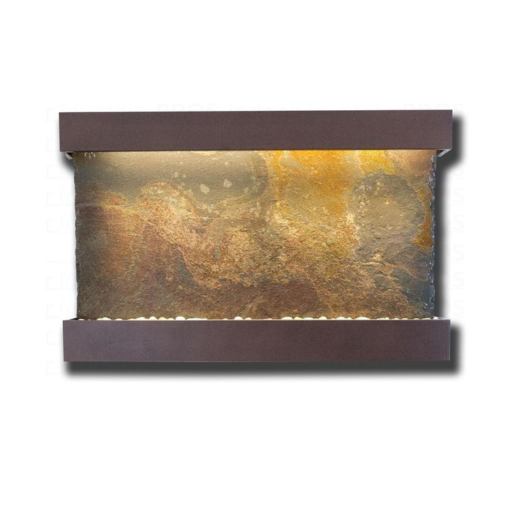 Large Horizon Falls Classic Quarry Rajah Slate with Copper Vein Trim Kit