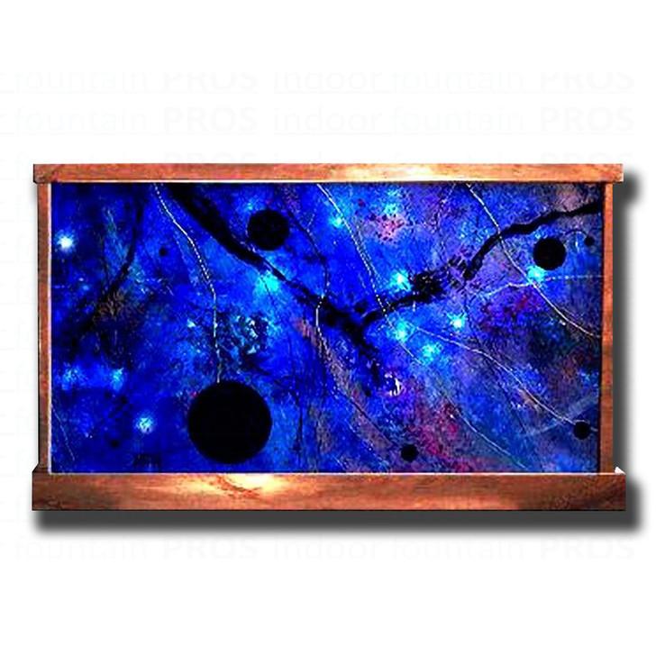 Black Holes Abstract Galaxy Wall Fountain