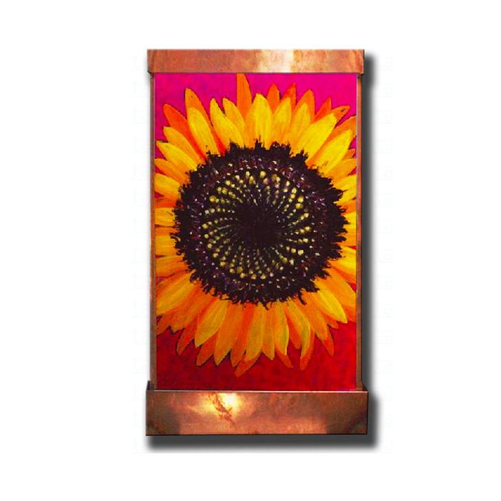 Sunflower Wall Fountain
