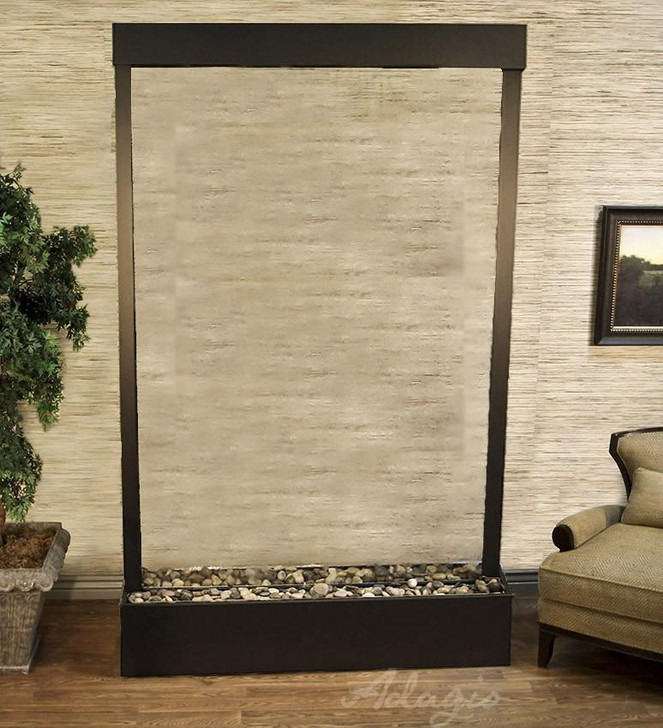 Mega Grandeur Center Mount Floor Fountain - Indoor Fountain Pros