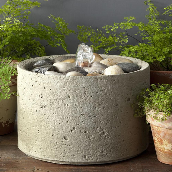 Campania Pebble Mini Series Fountain - Indoor Fountain Pros