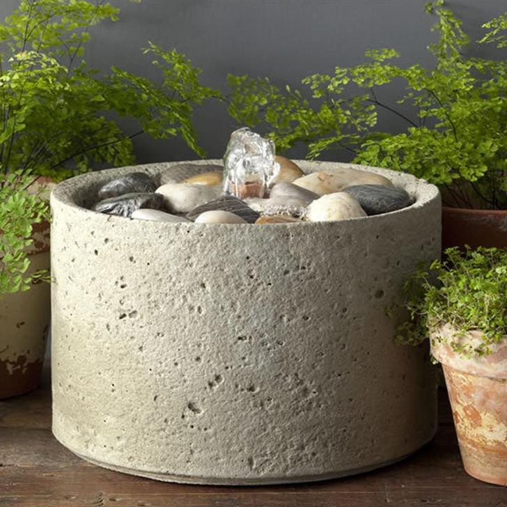 Campania Pebble Mini Series Fountain - Indoor Fountain Pros
