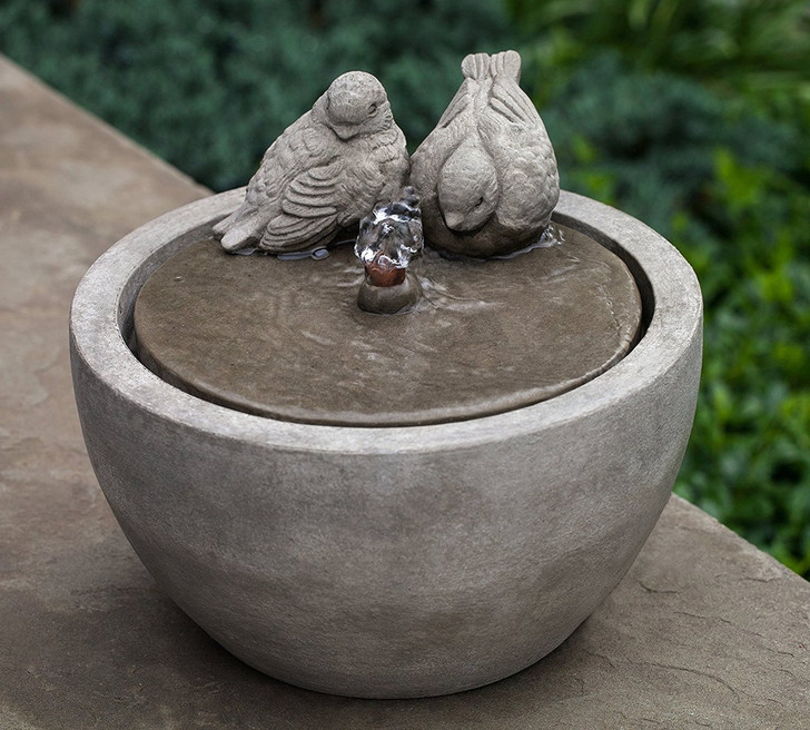 M-Series Bird Garden Water Fountain - Indoor Fountain Pros