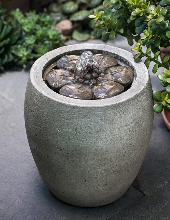 M-Series Camellia Garden Water Fountain - Indoor Fountain Pros