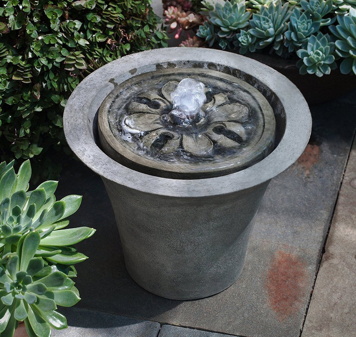 M-Series Flora Garden Water Fountain - Indoor Fountain Pros