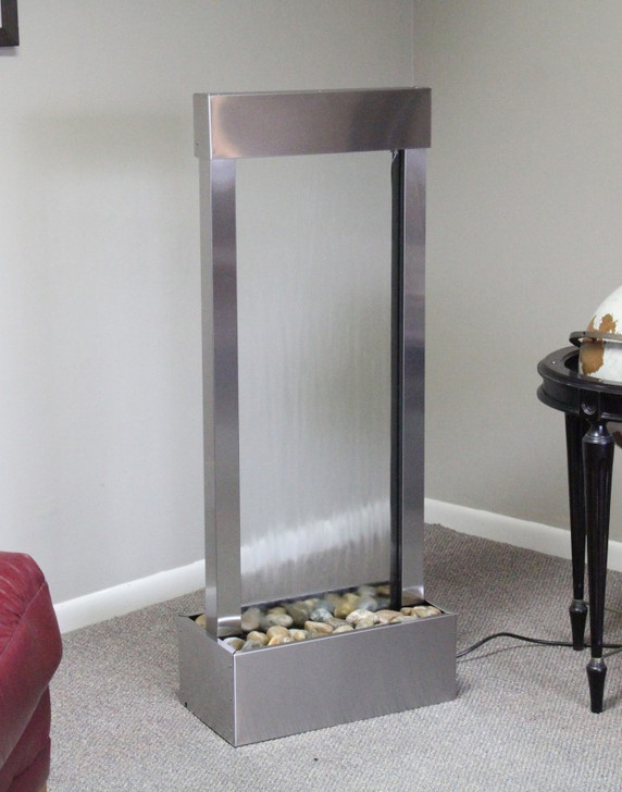 Bantam River Floor Fountain - Indoor Fountain Pros