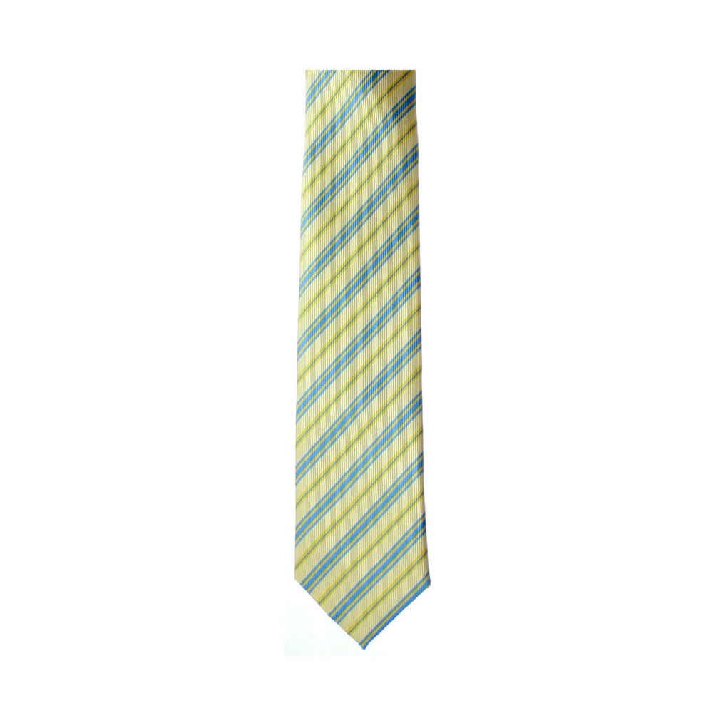 Kaiback Tagatie Skinnies- Yellow & Blue Striped