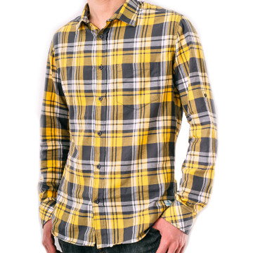 Kaiback Kickback Fitted - Yellow Plaid