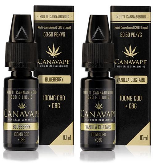 Canavape CBD+CBG Liquid