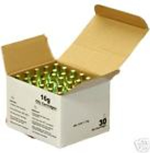 30 16 Gram Threaded CO2 Cartridges - food grade