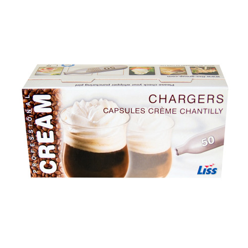 10 Cases of 600 LISS 8 gr  Cream Chargers   $ 180 ea  Ships Free !!