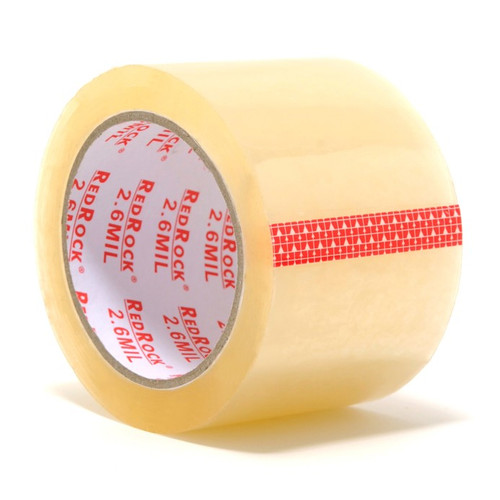 "3"" 2.6 mil packing tape 55 yds"