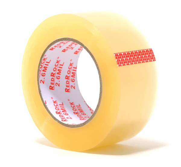"36 Rolls Redrock 2"" x 110 Yds 2.6 MIL Clear Packing Tape"