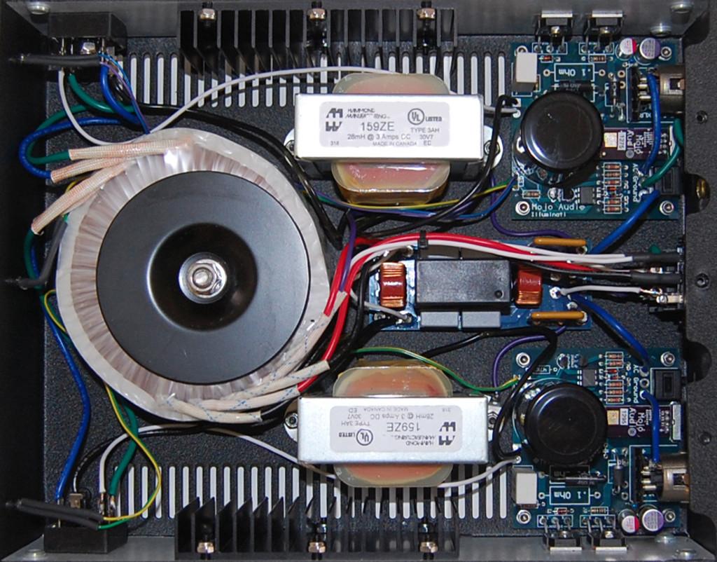 Illuminati v3 Dual Output Power Supply Inside View