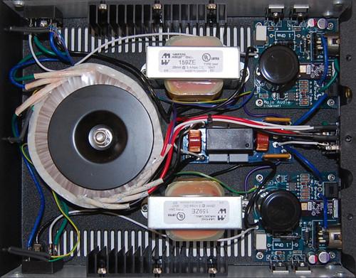 Illuminati v3 Power Supply Dual Output Inside View