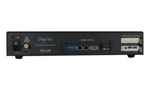 Deja Vu Music Server/Streamer Rear View