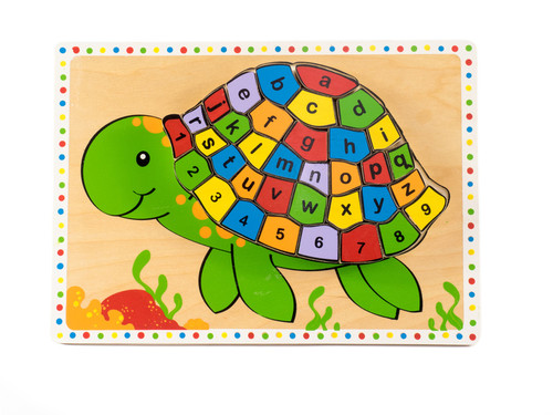 Kiddie Connect Turtle Alphabet Chunky Puzzle