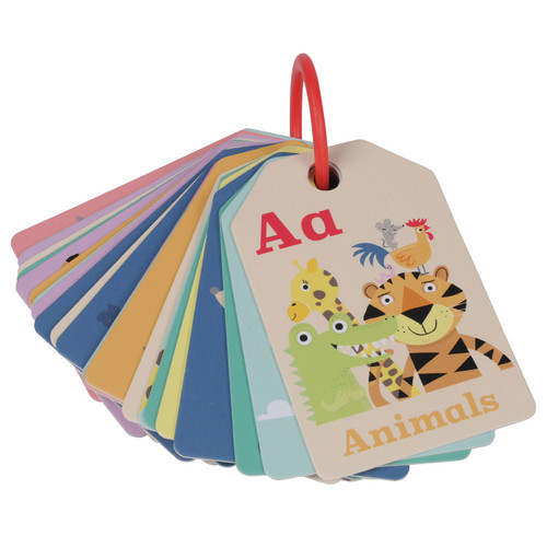 Tiger Tribe Flash Cards - Animal ABC