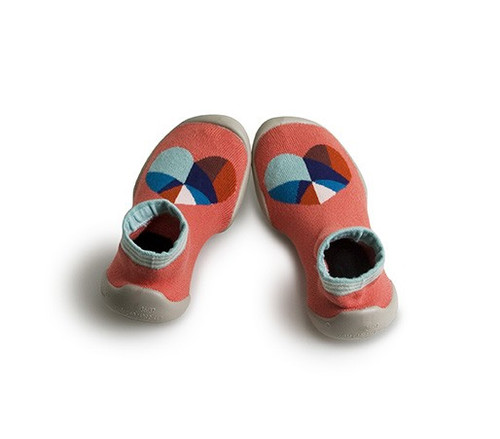 Collegien Slipper Socks - Graphic Heart