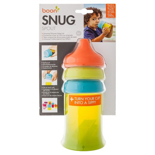 Boon Snug Spout And Cup Set Orange Multi
