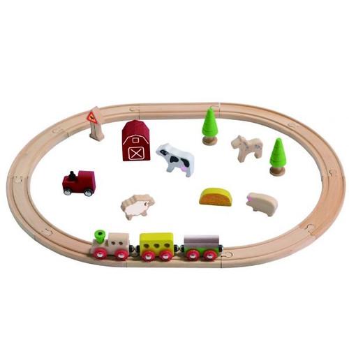 EverEarth Farm Train Set