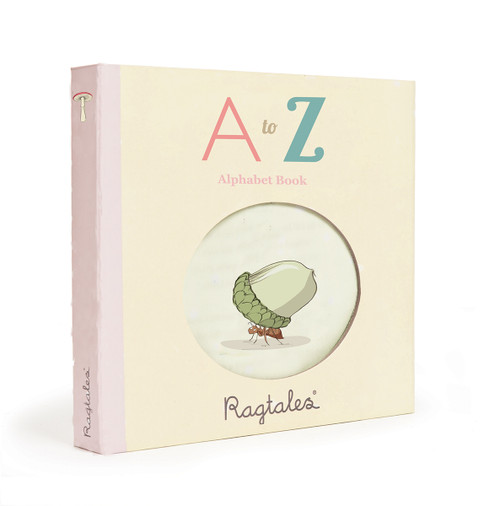 Ragtales Rag Fabric Book Alphabet ABC