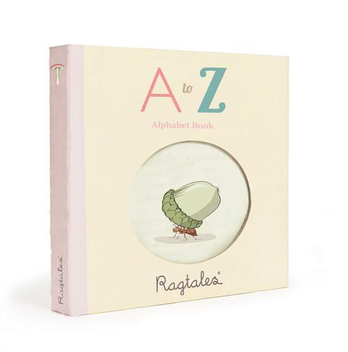 Ragtales Rag Fabric Book Alphabet ABC
