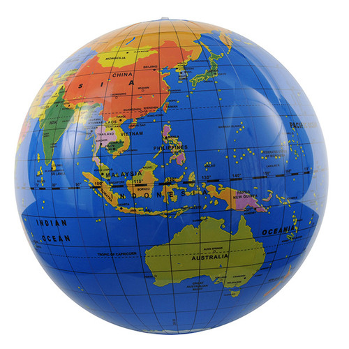 Tiger Tribe Small World Globe - 30cm