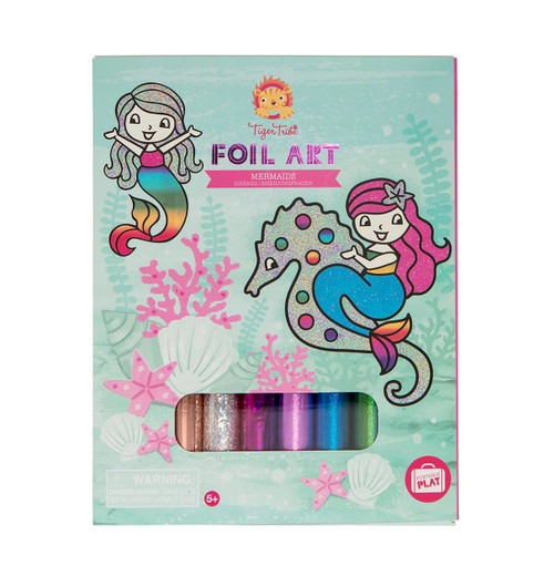 Tiger Tribe Foil Art - Mermaids