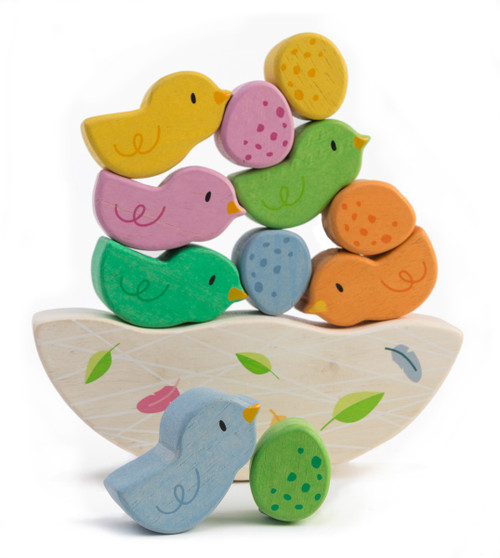 Tender Leaf Toys Rocking Baby Birds