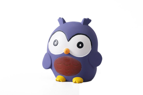 Tikiri Owl Rubber Squeaker