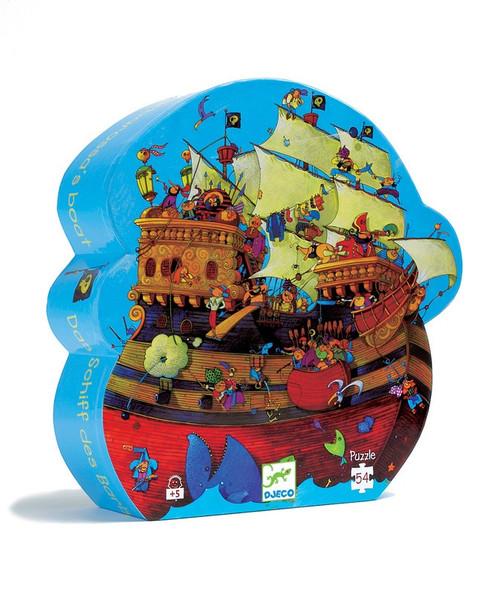 Djeco Barbarossa Boat Silhouette Puzzle