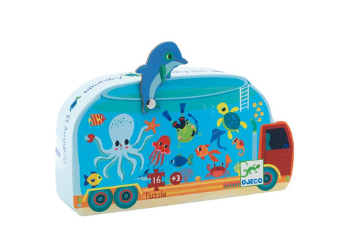 Djeco The Aquarium Silhouette Puzzle