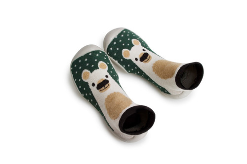 Collegien Slipper Socks The Bear
