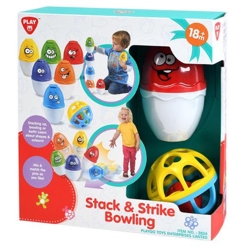 Playgo Stack & Strike Bowling