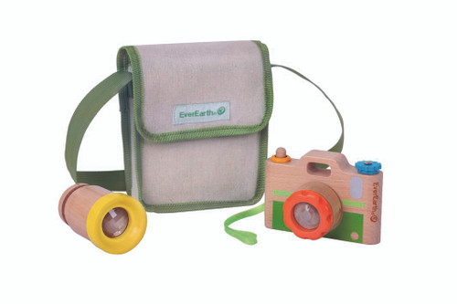 EverEarth Kid's Camera Set with Carry Bag